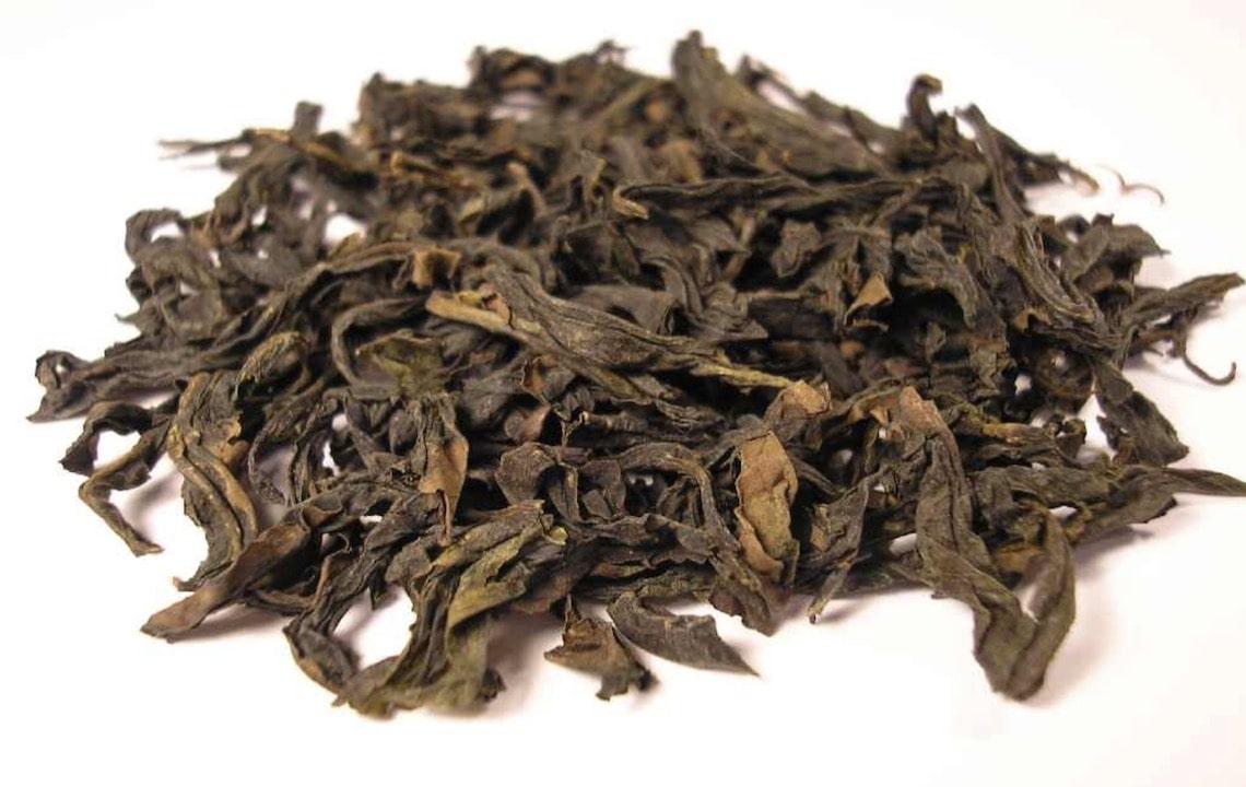 Oolong Çayı Yaprakları