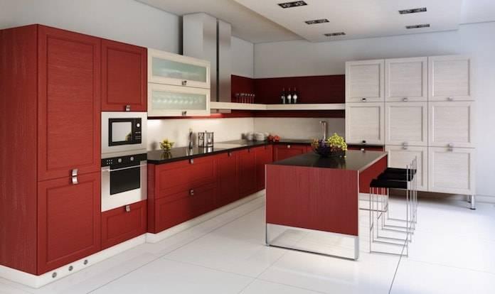 Kırmızı Mutfak İçin En Uygun Dekorasyon Fikirleri
