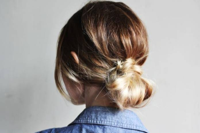 Pratik saç topuzu yapımı