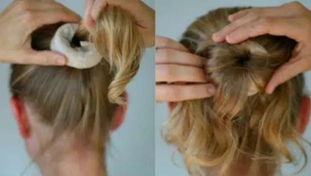 Pratik saç topuzu