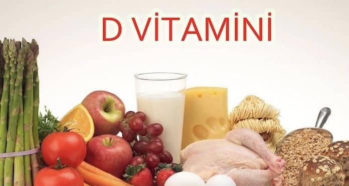 D Vitamin Eksikliği, D Vitamini Nelerde Bulunur?