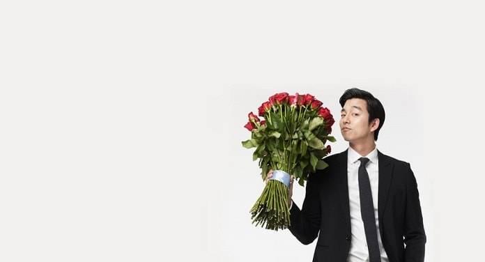 çiçekli adam